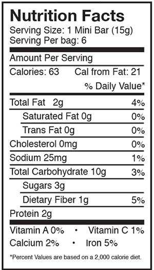 Amrita Protein Superfood Bites Apple Cinnamon
