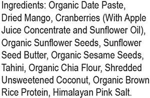 Amrita Protein Superfood Bites Mango Coconut