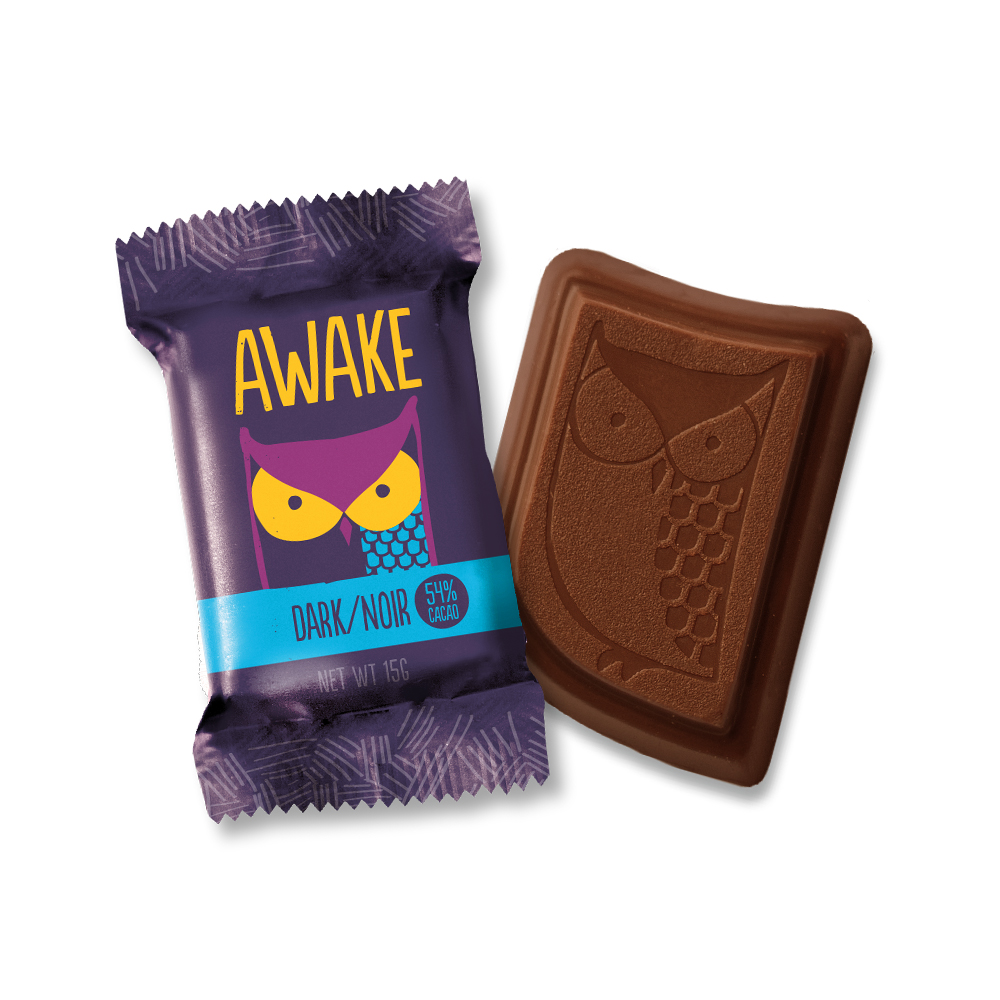 Dark Chocolate Bites - AWAKE Energy Canada