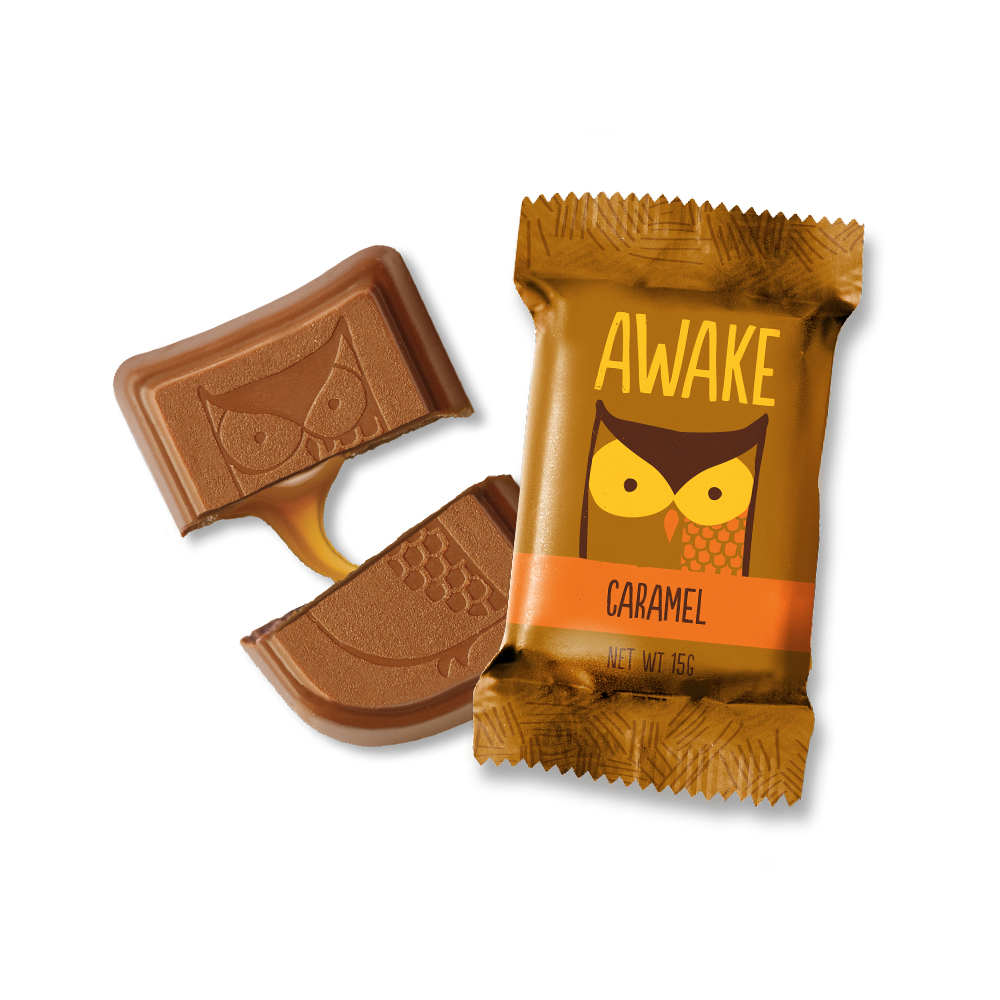Caramel Chocolate Bites - AWAKE Energy Canada