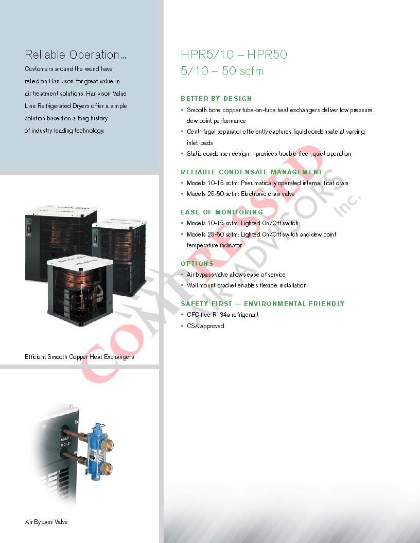 Click Here for SPX Hankison HPR Brochure