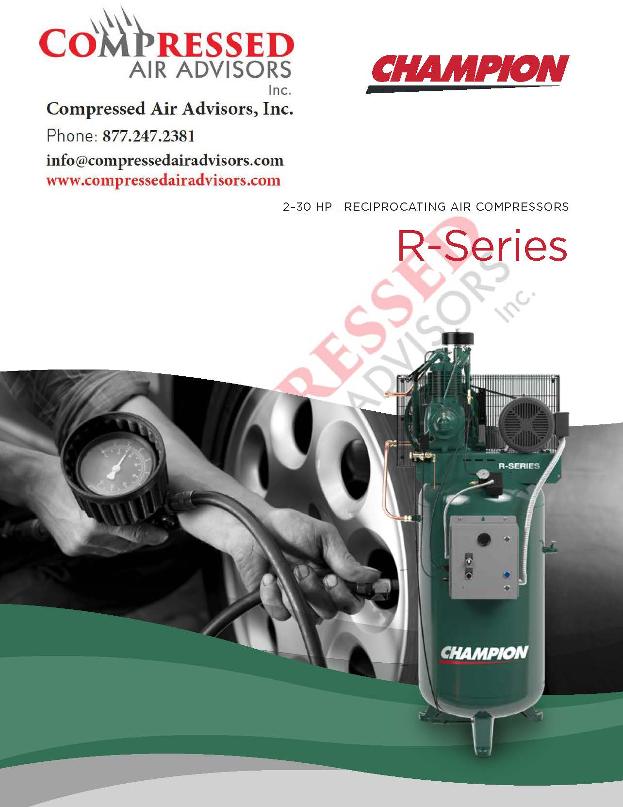 Champion Vr5 12 R Series 5hp Two Stage Reciprocating Air