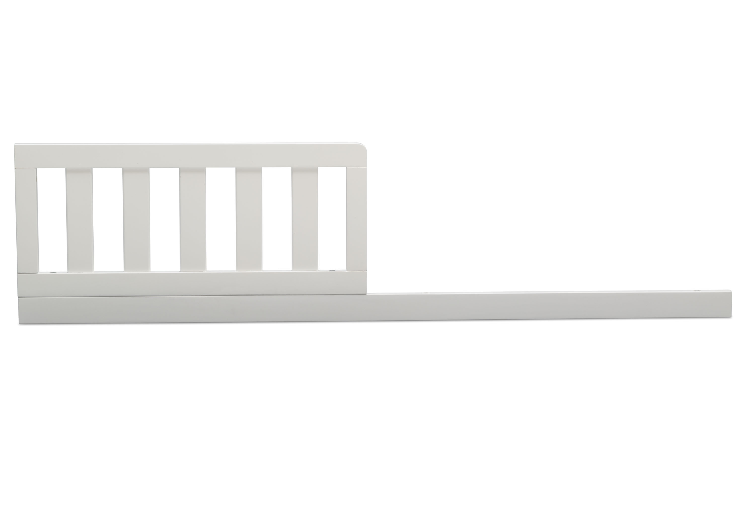 Delta Children Bianca White (130) Toddler Guardrail (W102725) for Adley 3-in-1 Crib