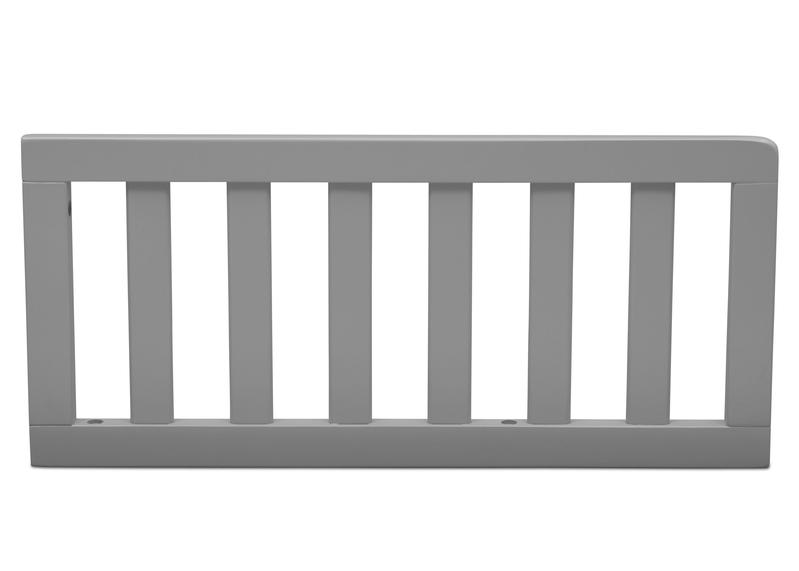 Simmons Kids Grey (026) Toddler Guardrail (0080) h1h Grey (026) c1c for Epic 4-in-1 Convertible Crib