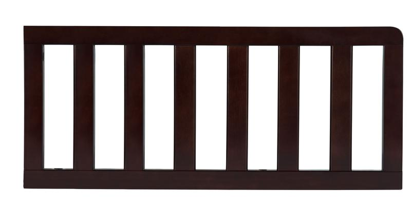 Simmons Kids Dark Chocolate (207) Toddler Guardrail (0080) h1h Dark Chocolate (207) c1c for Epic 4-in-1 Convertible Crib