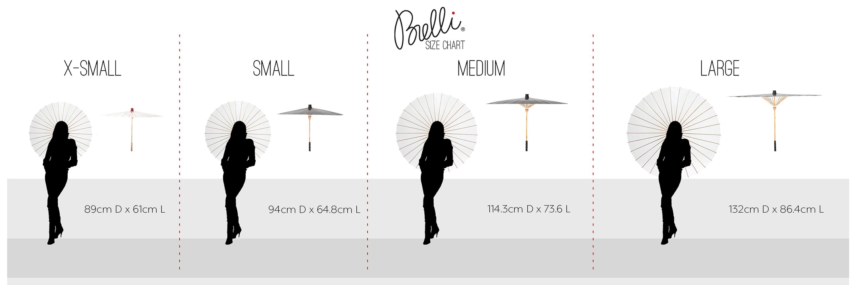 BRELLI size chart | Ecoture