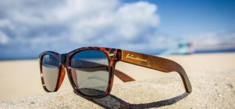 Woodwear's Tortoise Malibu Sunglasses are wearable 'eco art'