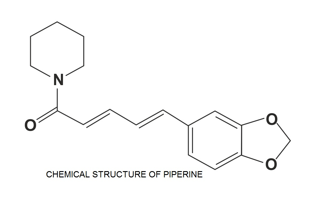 Chemical Structure of Piperine