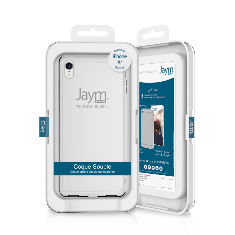 COQUE IPHONE XR Jaym Smartphones - Hubside.Store- image 1