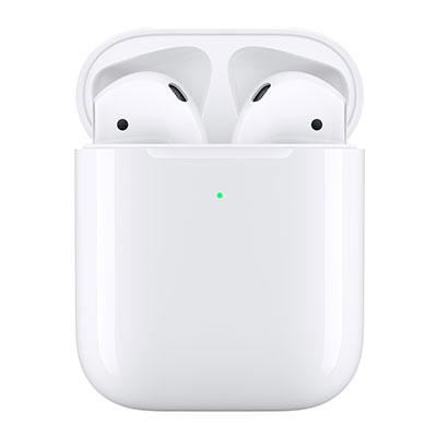AirPods avec boîtier de charge sans fil - BLANC Apple Objets connectés - Hubside.Store- image 2