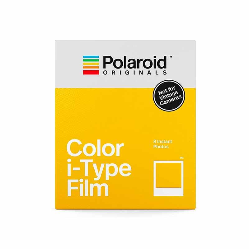 PAPIER PHOTO INSTANTANE POLAROID COULEURS POUR I-TYPE - TRANSPARENT Polaroid Objets connectés - Hubside.Store- image 1