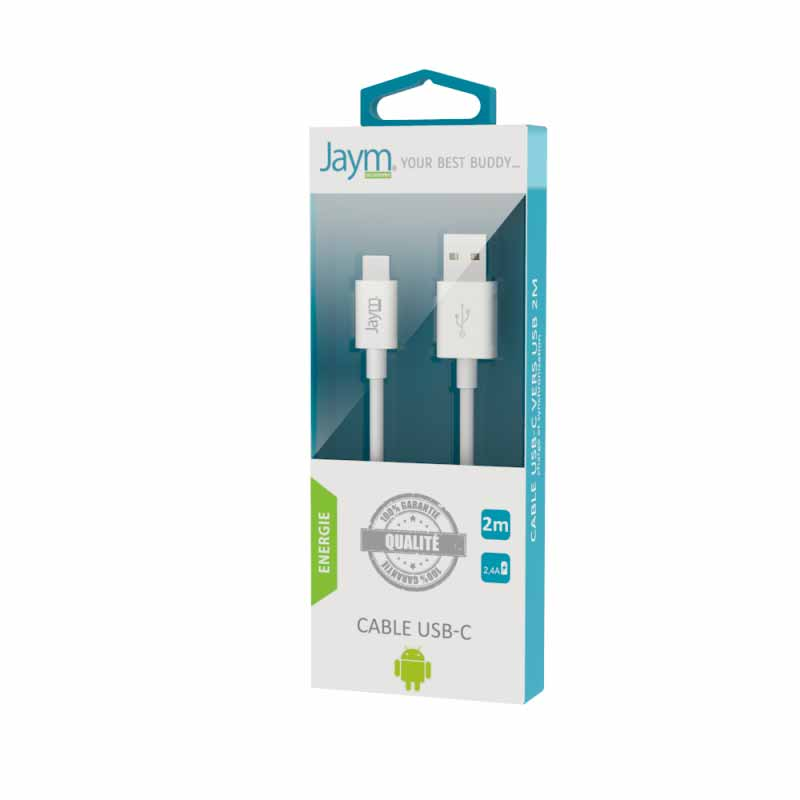 CABLE USB TYPE-C 2M - Hubside.Store- image 1