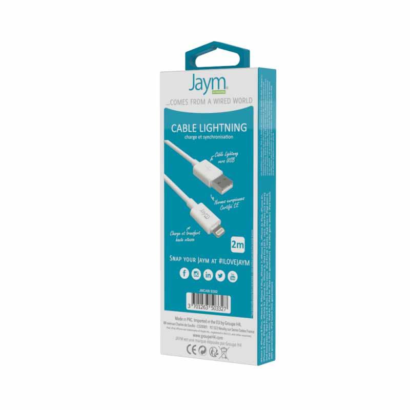 CABLE USB 2 M Jaym Smartphones - Hubside.Store- image 2