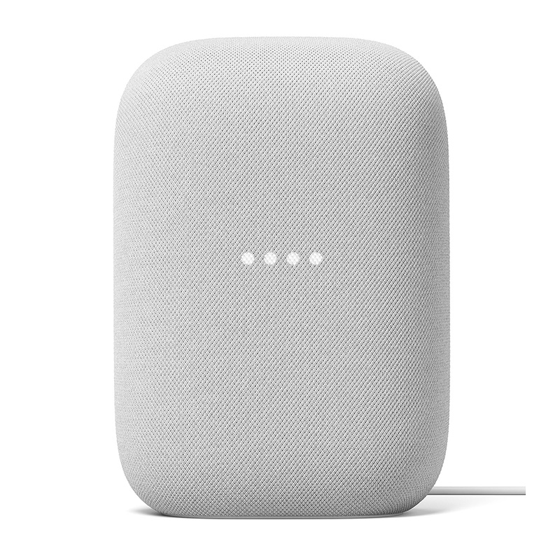 GOOGLE NEST AUDIO GALET ASSISTANT VOCAL - GRIS CLAIR- image 1