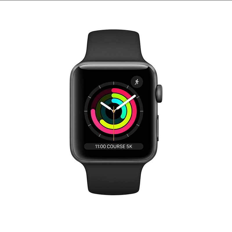 APPLE WATCH SERIE 3 - NOIR- image 1