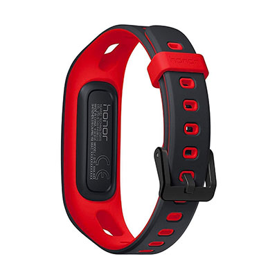 HONOR BAND 4 RUNNING - NOIR/ROUGE- image 3