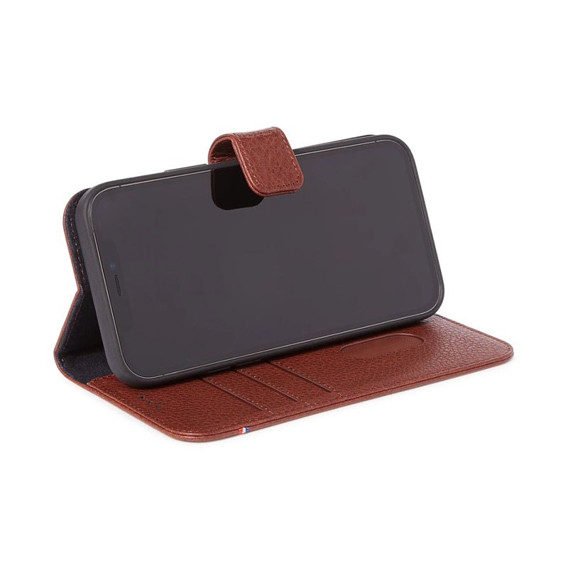 COQUE DECODED PORTEFEUILLE MARRON IPHONE 12 / IPHONE 12 PRO- image 1