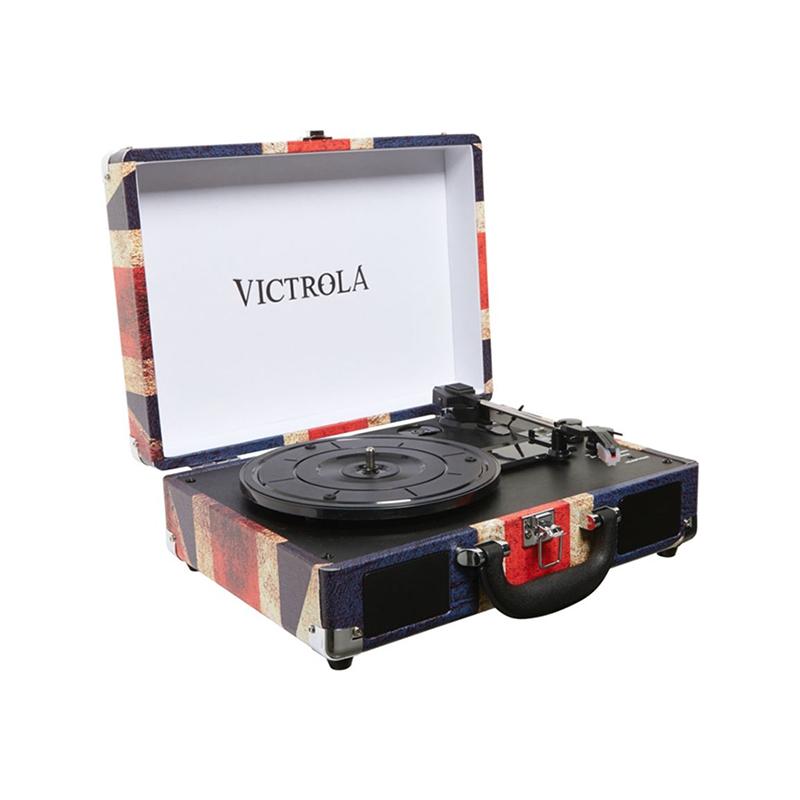Platine vinyle Victrola VSC-550BT - DRAPEAU UK- image 1