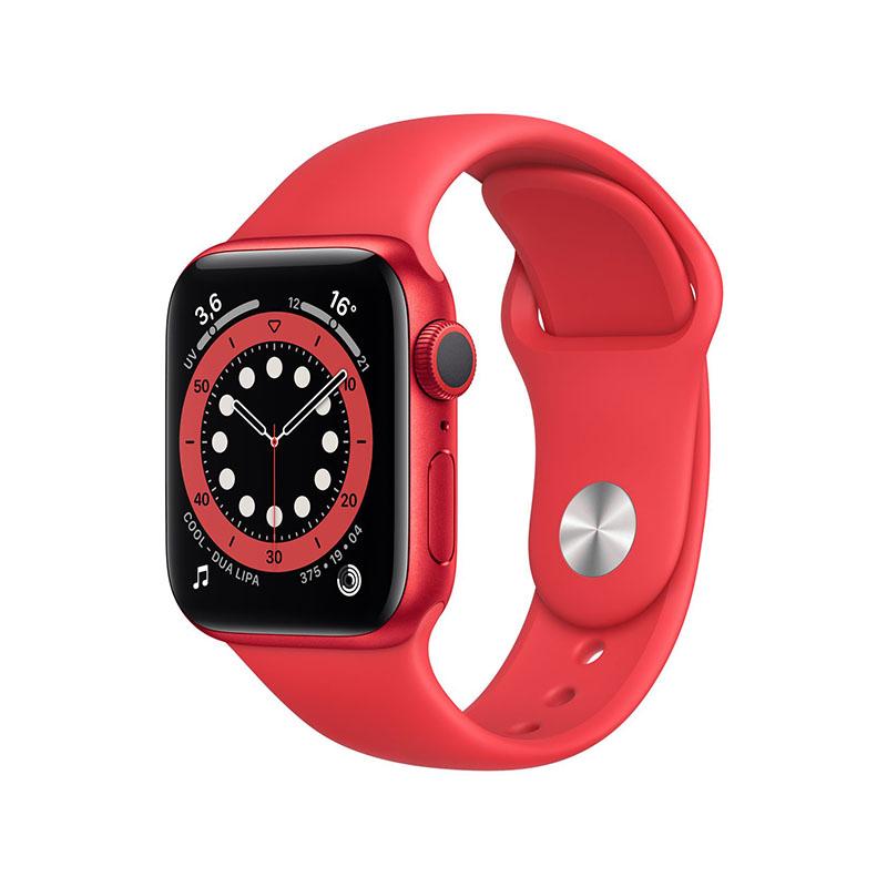 APPLE WATCH SERIE 6 A2292 RED ALU 44MM BRACELET SPORT RED - RED- image 1