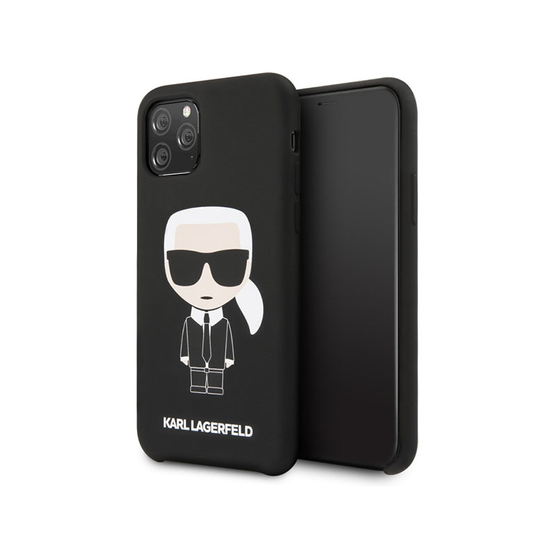 COQUE SILICONE KARL LAGERFELD POUR APPLE IPHONE 11 PRO- image 1