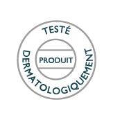 Produit testé dermatologiquement
