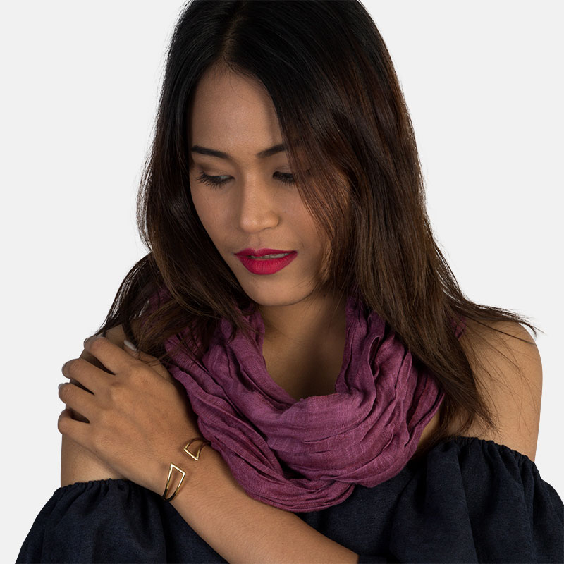 Breathable, Lightweight Infinity Loop Scarf