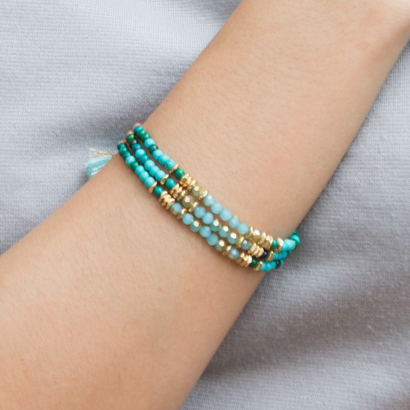 Maia - Multistrand Layered Bracelet