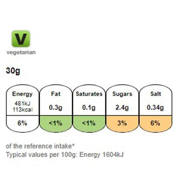 Nutritional information for Kellogg's Corn Flakes 375g at Savecoonline.com