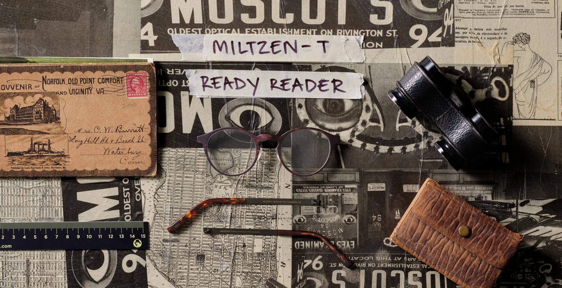 MILTZEN-T READY READER