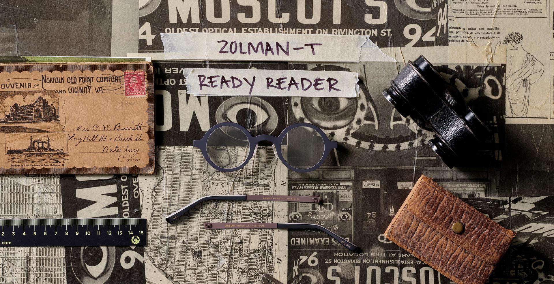 ZOLMAN-T READY READER