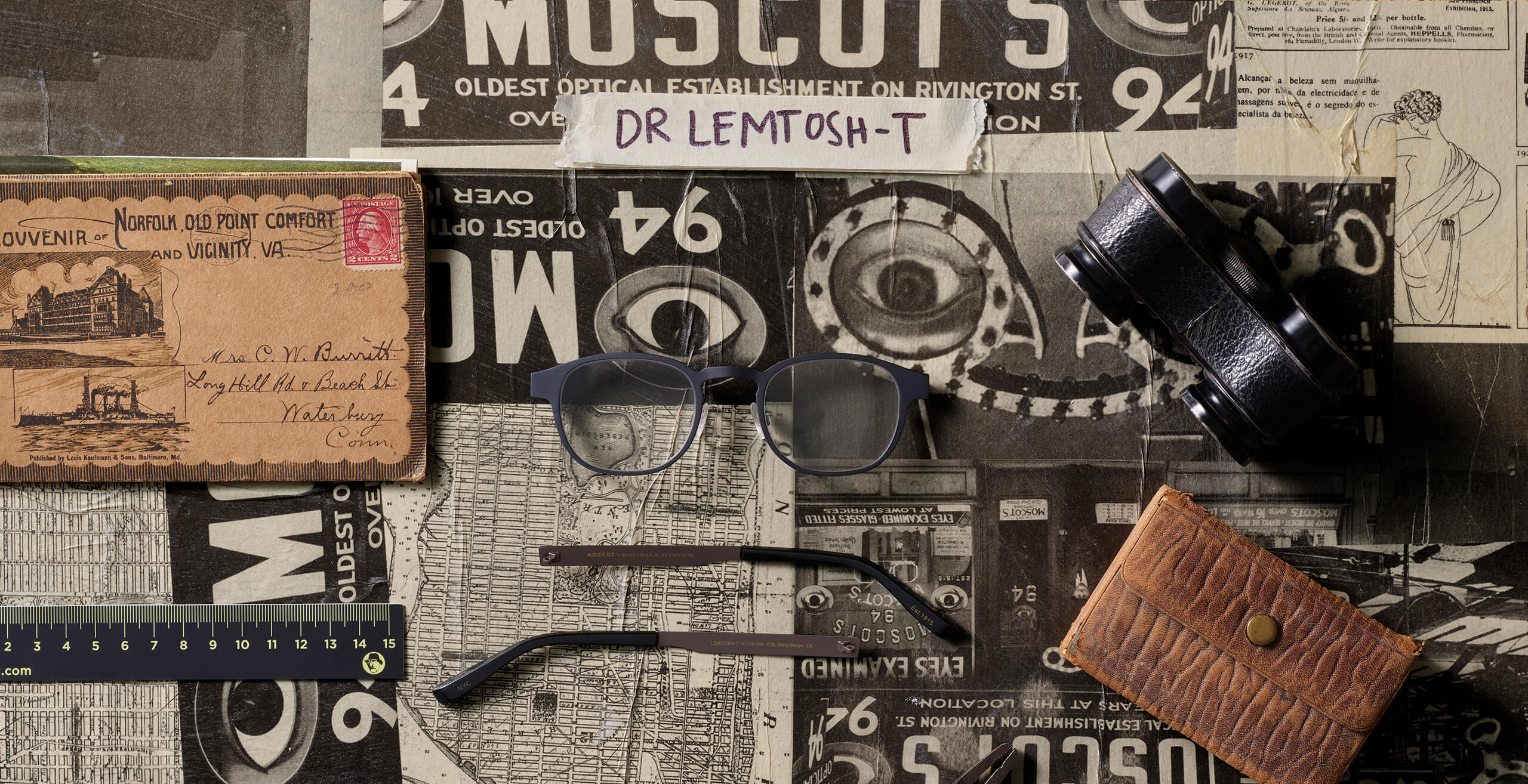 Disassembled DR LEMTOSH-T frame in Navy/Beige