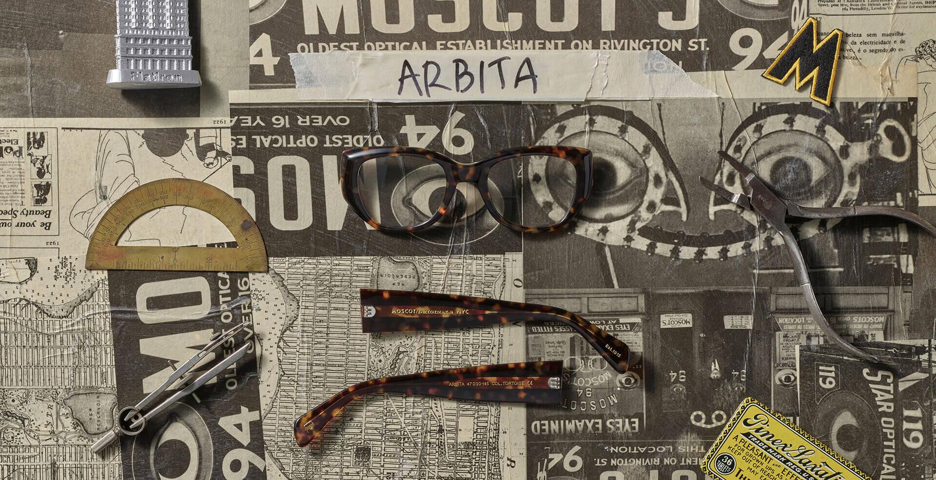 Disassembled ARBITA frame