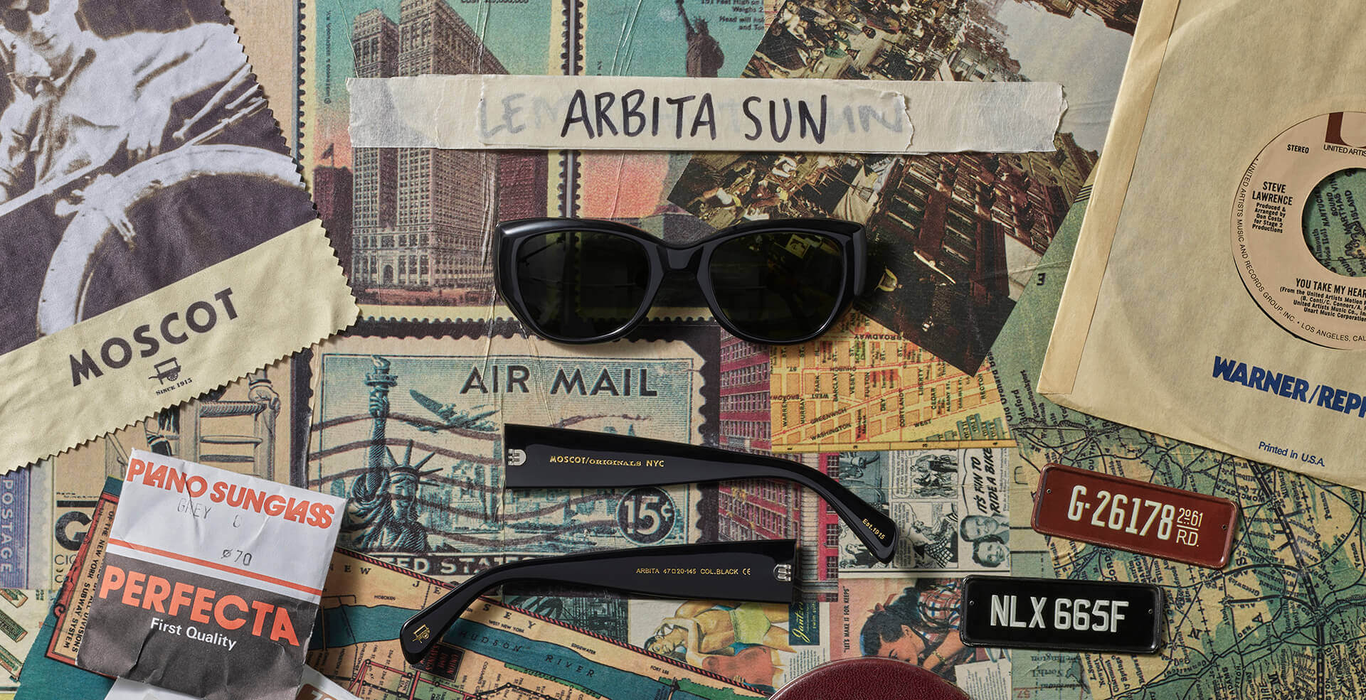Disassembled ARBITA SUN frame