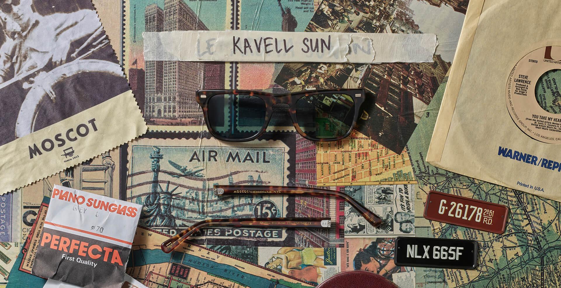 Disassembled KAVELL SUN frame
