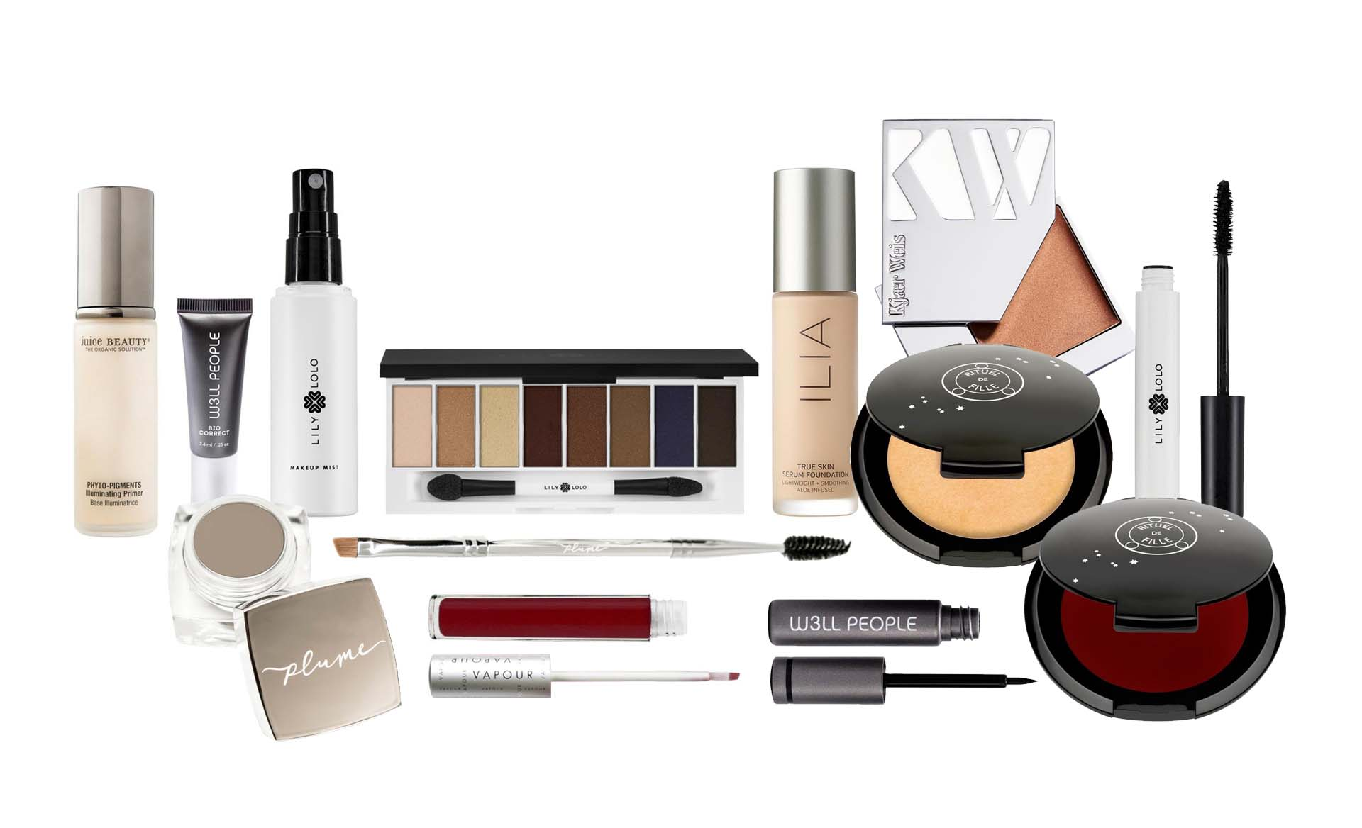 <font color= #418993>Here's your Glam look with a dewy finish</font> 1