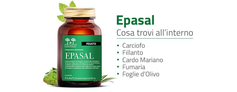 ingredienti di Epasal Salugea