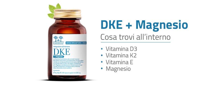 Ingredienti di DKE + Magnesio Salugea