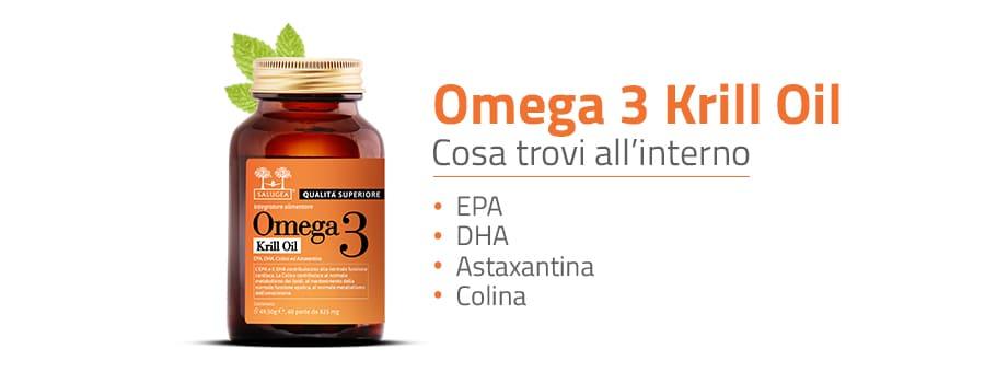 Ingredienti di Omega 3 Krill Oil