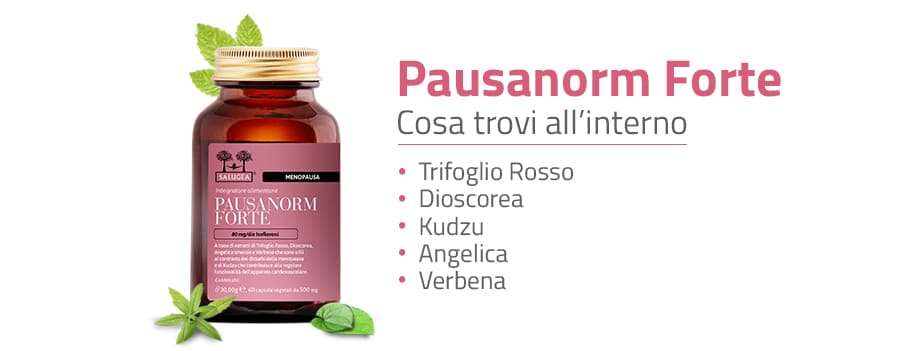 Ingredienti di Pausanorm Forte