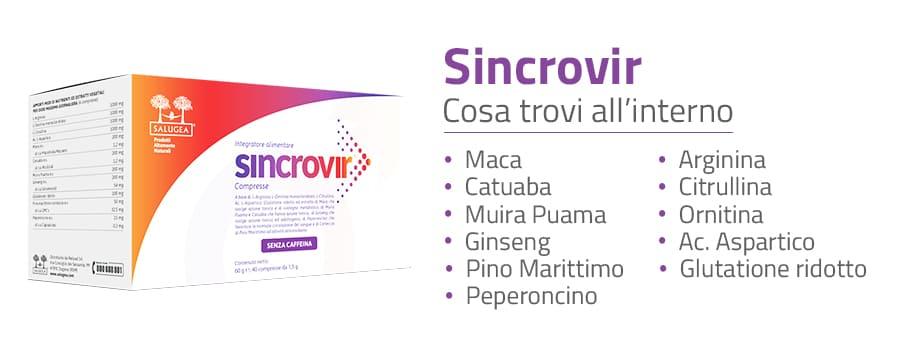 ingredienti di Sincrovir