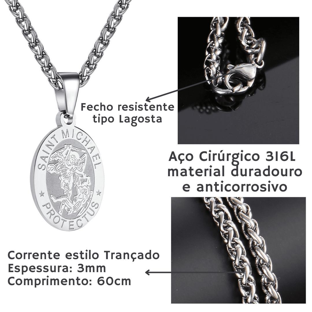"""Coleção Premium """"Nos Proteja"""" - Medalhas Divinas"""