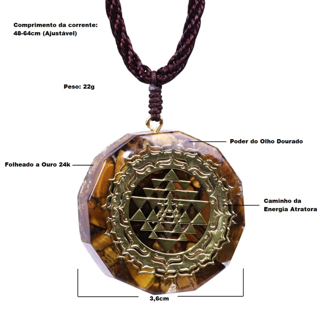Amuleto deixa rico