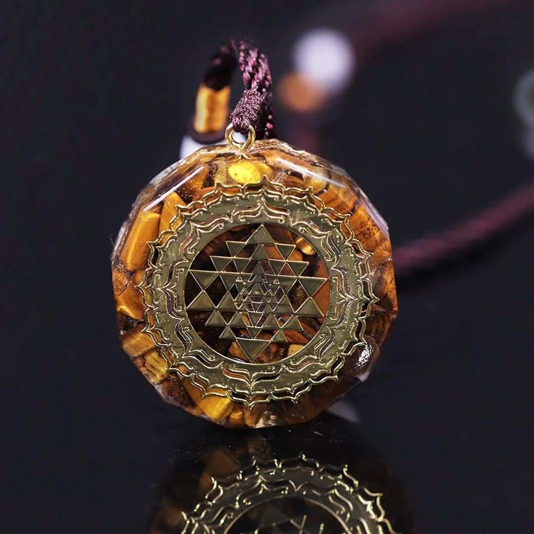 amuleto atrator de riquezas e boas energias