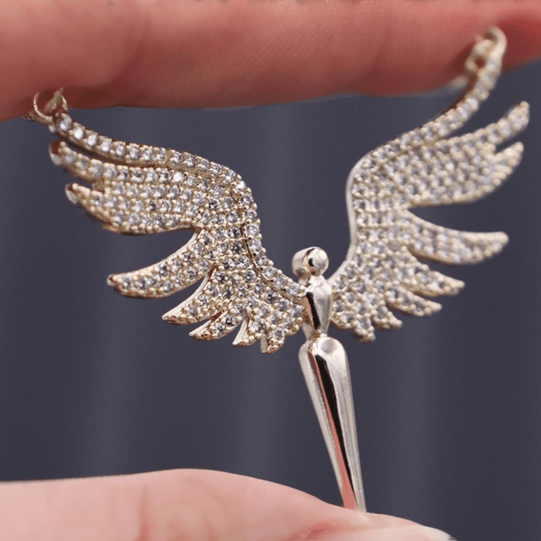 colar de anjo protetor