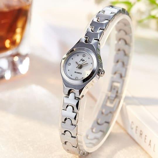 Relógio Feminino Prata Delicado