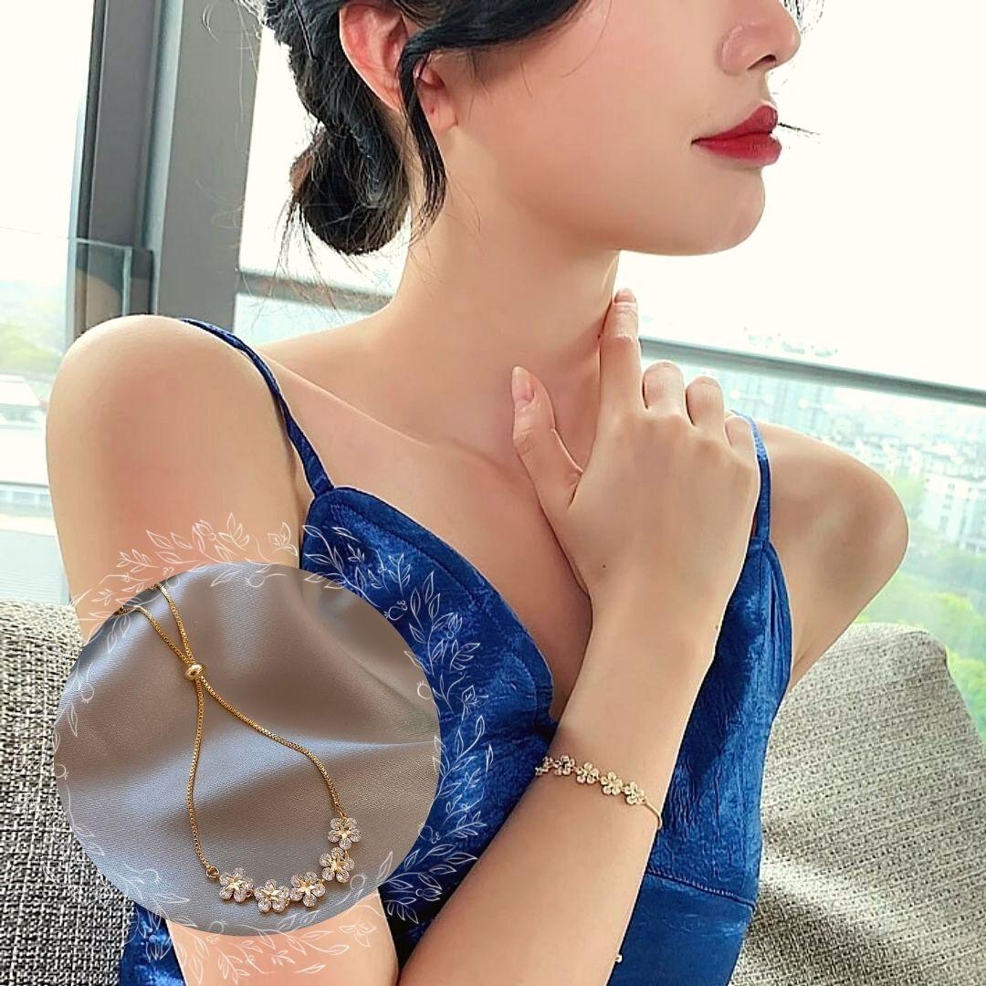 pulseira zircônia elegante