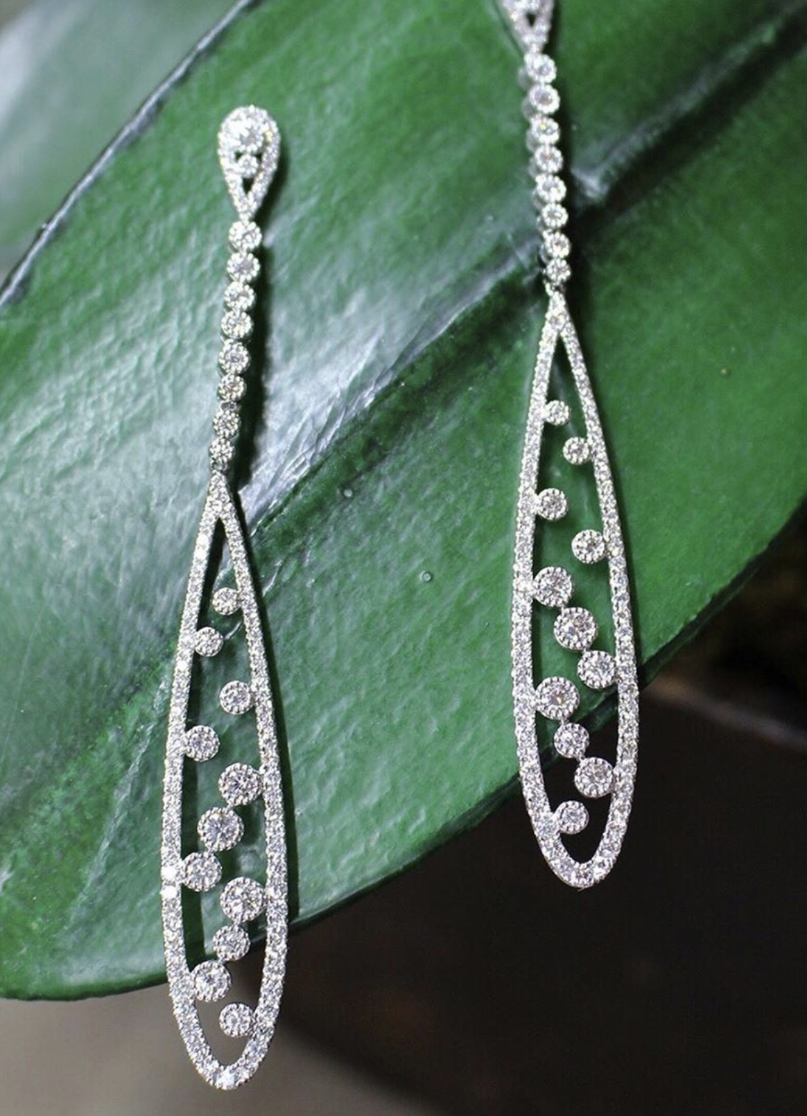 Sara Weinstock Fine Jewelry - Brut Teardrop Earrings