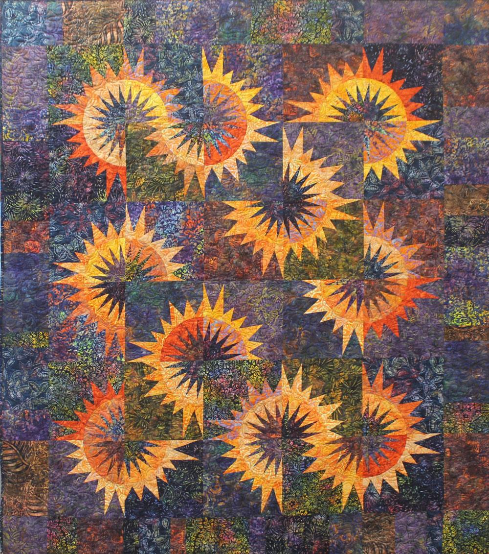 Sandra Coffey Sunflower Illusion