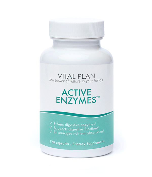 Active Enzymes for digestive health