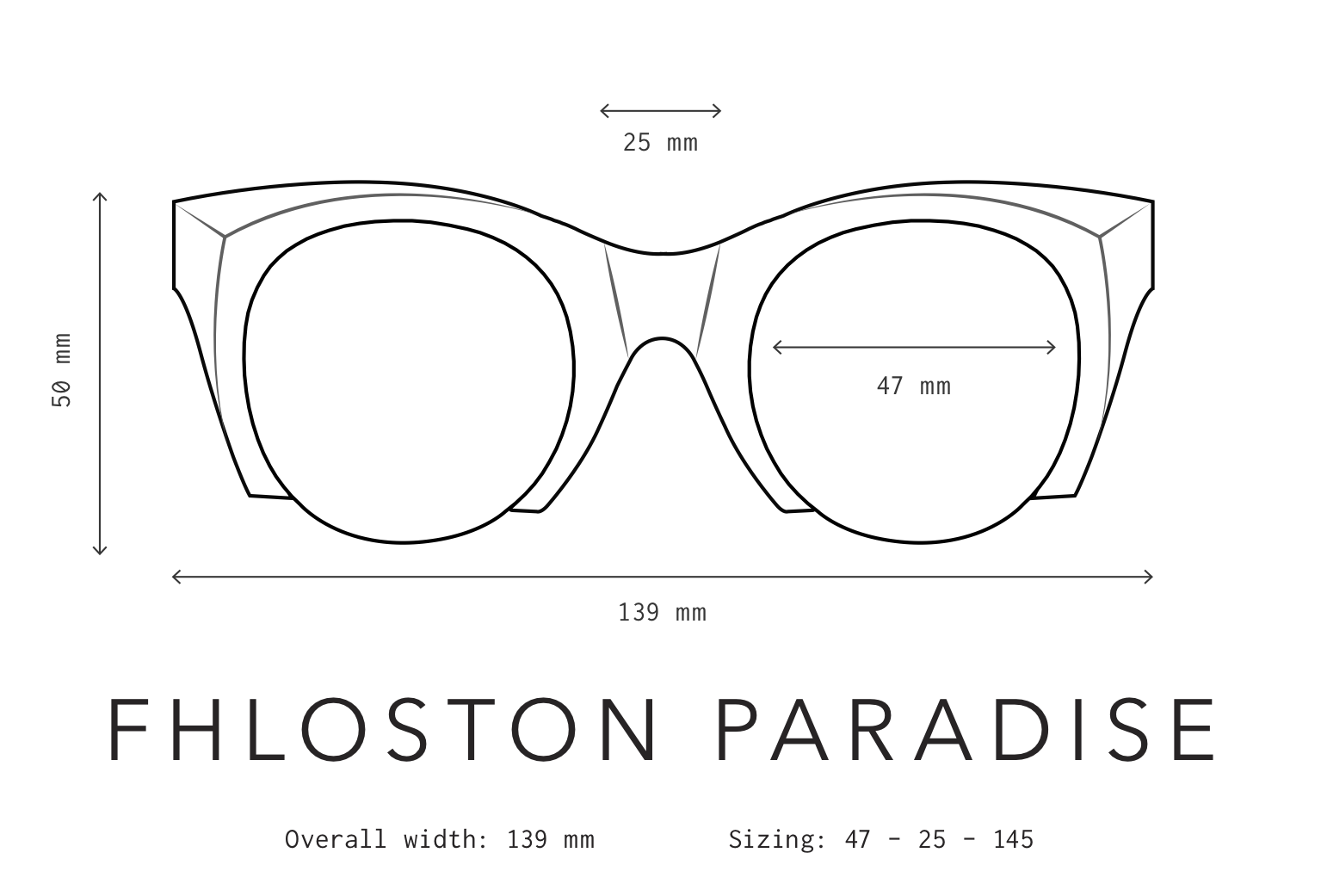 Fhloston Paradise Sunglasses Fit Information
